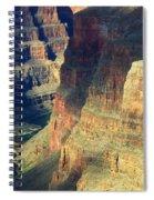 Grand Canyon Magic Of Light Spiral Notebook
