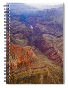 Grand Canyon Morning Scenic View Spiral Notebook