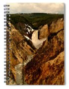 Grand Canyon Of The Yellowstone Spiral Notebook