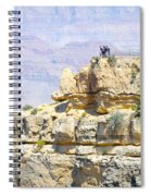 Grand Canyon Overlook Spiral Notebook