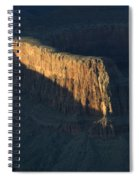 Grand Canyon Point Of Light Spiral Notebook