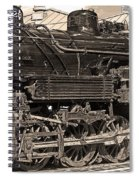 Grand Canyon Railroad Locomotive Spiral Notebook