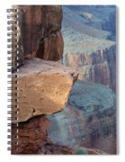Grand Canyon Raw Nature Spiral Notebook