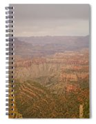 Grand Canyon Scenic Overlook View Spiral Notebook