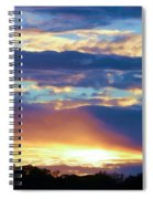 Grand Canyon Sky Over Treetops Spiral Notebook