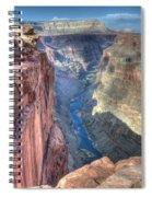 Grand Canyon Toroweap Vista Spiral Notebook