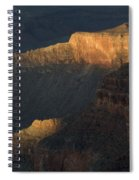 Grand Canyon Vignette 1 Spiral Notebook