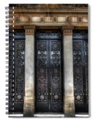 Grand Door - Leeds Town Hall Spiral Notebook