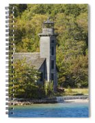 Grand Island E Channel Lighthouse 1 Spiral Notebook
