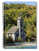 Grand Island E Channel Lighthouse 2 Spiral Notebook