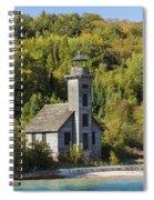 Grand Island E Channel Lighthouse 2 Spiral Notebook
