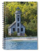 Grand Island E Channel Lighthouse 3 Spiral Notebook