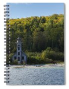 Grand Island E Channel Lighthouse 4 Spiral Notebook