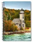 Grand Island Lighthouse No.1442 Spiral Notebook
