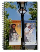 Grand Ole Opry Flags Nashville Spiral Notebook