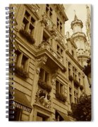 Grand Place Perspective Spiral Notebook