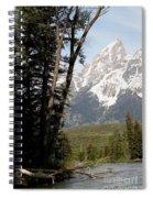 Grand Tetons Vertical Spiral Notebook