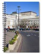 Grand Theatre In Warsaw Spiral Notebook