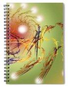 Grandeur Of The 12 Moons Spiral Notebook