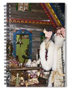 Grandfather Frost Of Russia Spiral Notebook