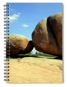 Granite Boulders 2  Spiral Notebook