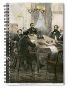 Grants Cabinet, 1869 Spiral Notebook