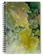 Grapes II Spiral Notebook
