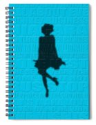 Graphic Marilyn Monroe Spiral Notebook