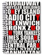 Graphic New York 3 Spiral Notebook
