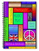 Graphic Sixties London Spiral Notebook