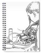 Graphophone Spiral Notebook