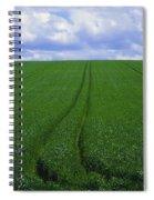 Grass Field Spiral Notebook