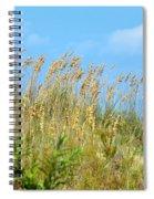 Grass Waving In The Breeze Spiral Notebook