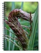 Grass Worm Spiral Notebook