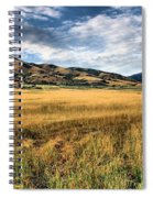 Grassy Plains And Ancient Dunes Spiral Notebook