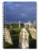 Graveyard, Clonmacnoise, County Offaly Spiral Notebook