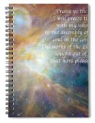 Great Are His Works Spiral Notebook