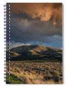 Great Basin Cloud Spiral Notebook