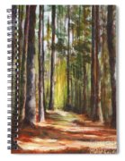 Great Brook Farm Summer Path Spiral Notebook