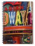 Great Canadian Midway Spiral Notebook