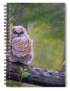 Great Horned Owlette Spiral Notebook