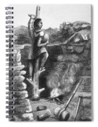 Great Lakes: Ancient Miner Spiral Notebook