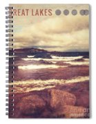 Great Lakes Spiral Notebook