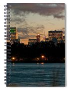 Great Pond Fountain Spiral Notebook