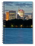 Great Pond Skyline Spiral Notebook