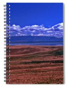 Great Salt Lake And Antelope Island Spiral Notebook