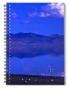 Great Salt Lake From Causeway Spiral Notebook