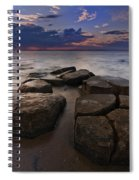 Great South Bay Sunset Spiral Notebook