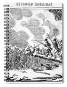 Great Swamp Fight, 1675 Spiral Notebook