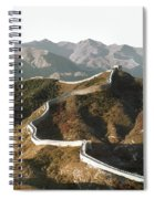 Great Wall Of China, C1970 Spiral Notebook